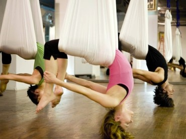 Up the ante with Anti-Gravity Yoga