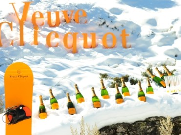 Clicquot In The Snow