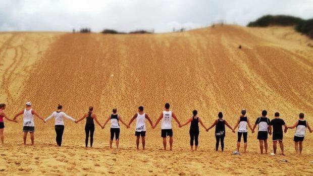 East Side Crew sand dunes