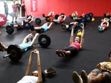 Give 'em Cold Steel at Reebok CrossFit GCS