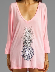 Revolve_291 Pineapple tiered hem tunic in maui pink_190x250