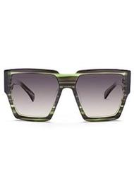 AM Eyewear Green Sunglasses