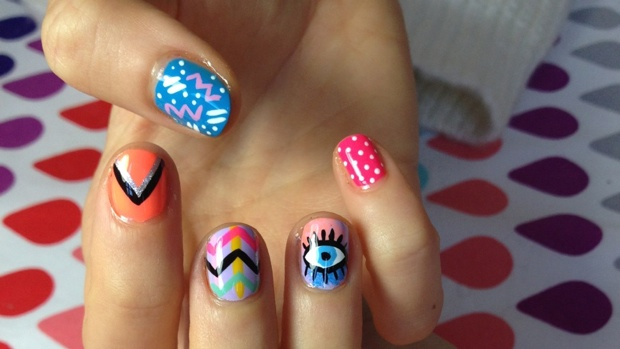 I Scream Nails Nail Art Daily Addict