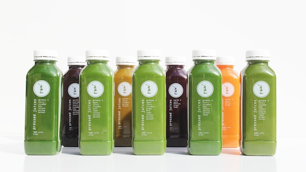 Pressed Juices - Greens and Earth Range