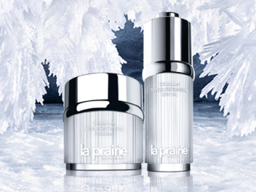 Put aging on ice with la prairie