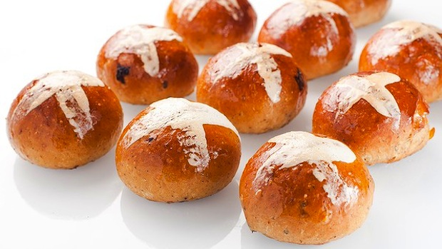 Burch Purchese easter hot cross buns