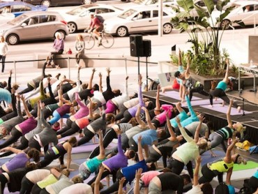 Pick up the Pace with Disco Yoga