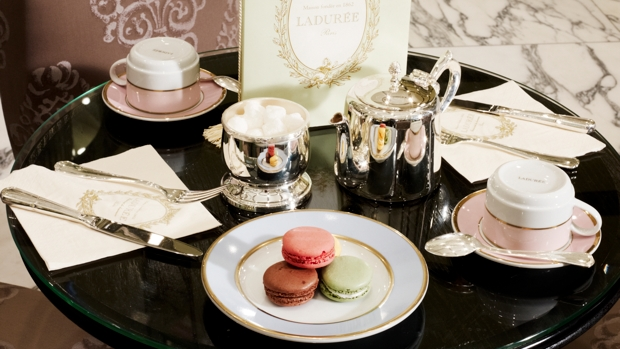 Laduree high tea