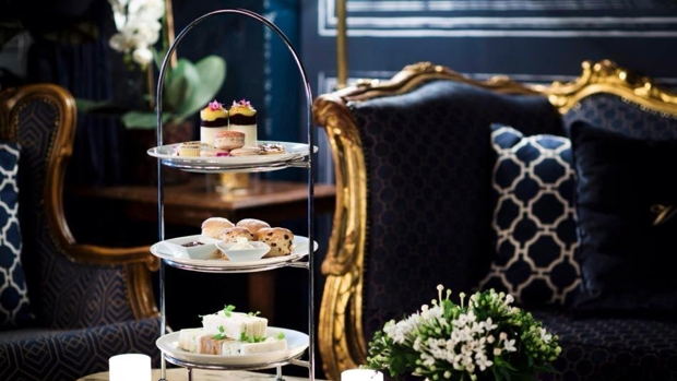 The Victoria Room high tea