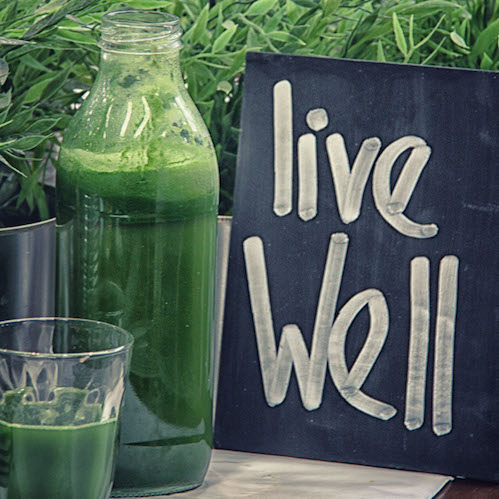 Stop by the Aboutlife cafe for a green smoothie