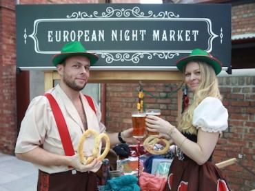 Madame Brussels Lane Becomes a EuropeanNight Market