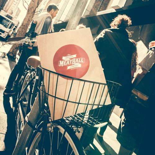 Original Meatball Company bike