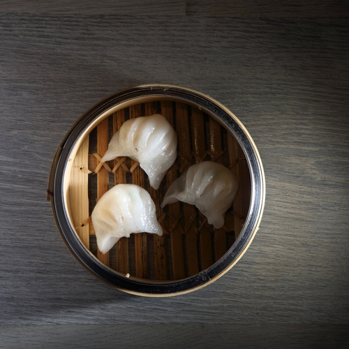 Spice Temple_Har Gow Steamed Prawn Dumplings
