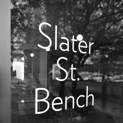 Slater St. Bench