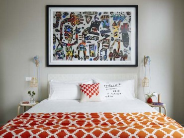 Art Meets Luxury Hotel at The Larwill Studio