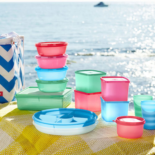 Tupperware's Coastal Picnic Set