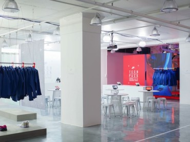 Fitness, Fashion and Coffee In One at Nike's Pop-Up Studio