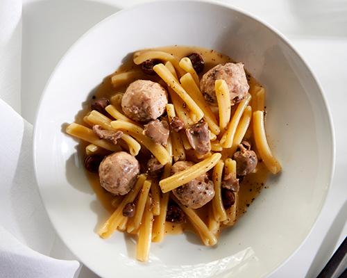Pei-Modern-Cassrecce-Pasta,-Chicken-dumplings,-Reggiano