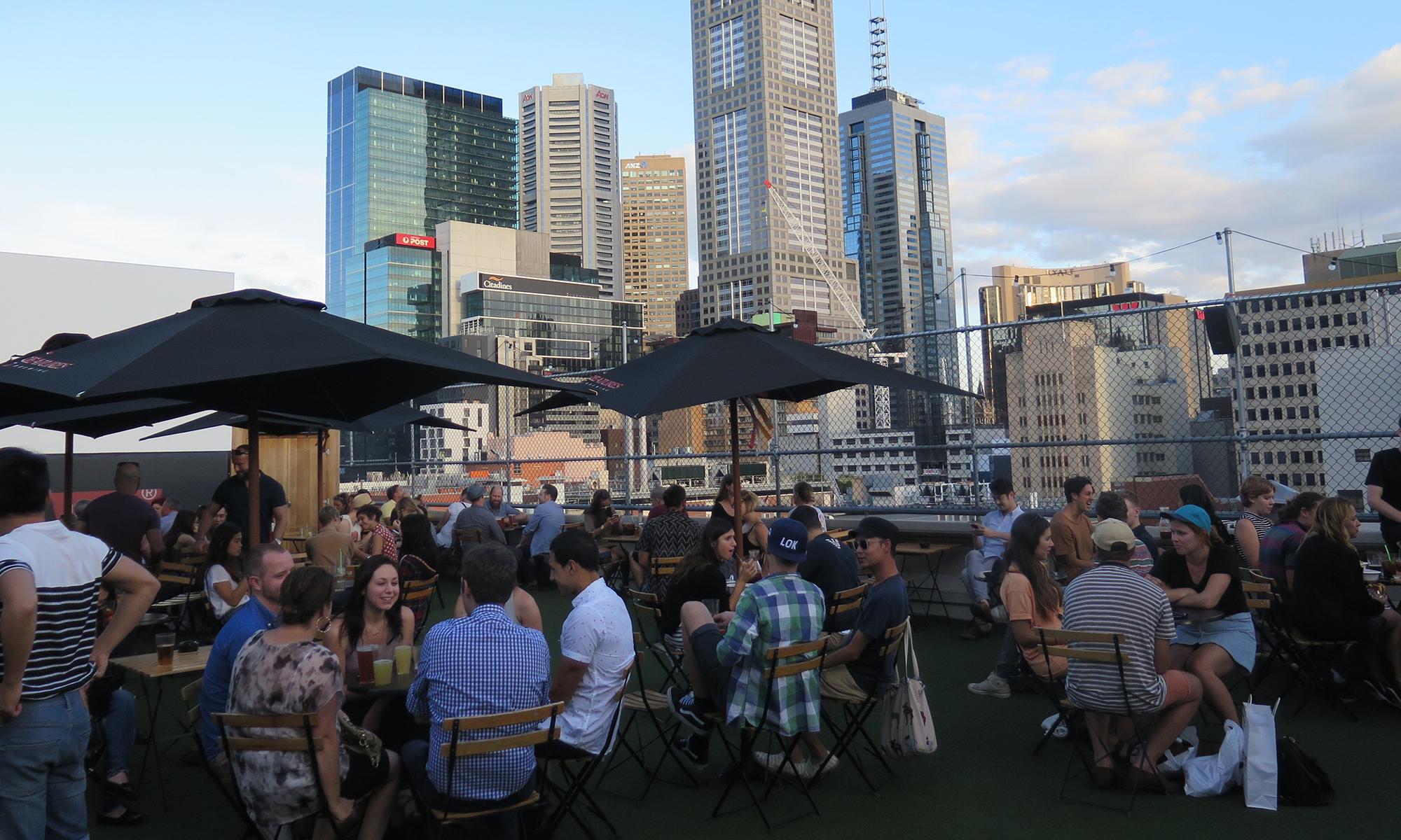 Rooftop Bar & Cinema in Melbourne CBD