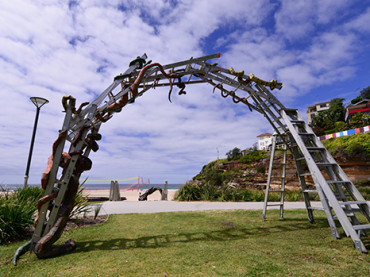 When Seaside Sculptures, The Grounds & Summer Come Together