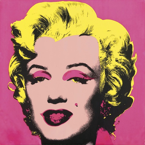 Andy Warhol Marilyn Monroe 1967 Silkscreen on paper 1 of suite of 10: 91.5 x 91.5cm (each) Frederick R Weisman Art Foundation, Los Angeles © Andy Warhol