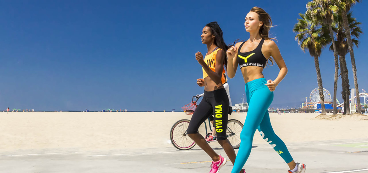 It was a perfect day in Santa Monica beach California with Ukrainian athletic model Alina Shelestyuk and model Krystle Wilson, I was able to run and shoot 25mb RAW files at 6 frames a second with the stabalized 24-70 lens for a new EU sportswear fashion line