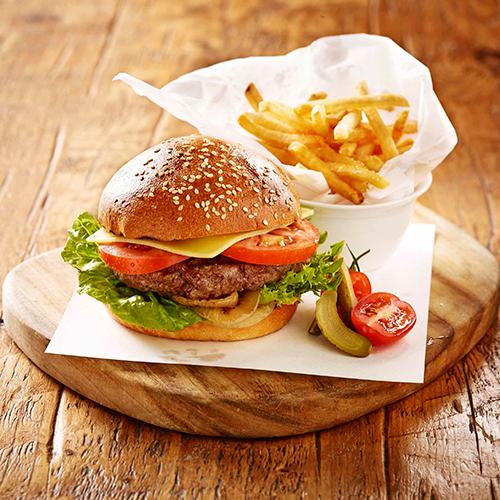 Grain burger at Four Seasons