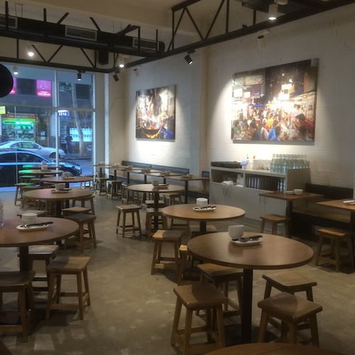 Cool and casual inside Hawker