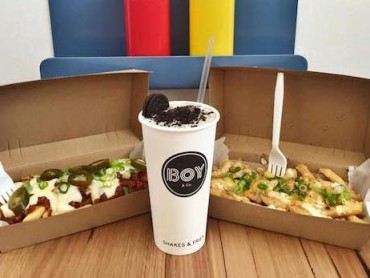 Fries and Shakes But No Burgers at Boy & Co.