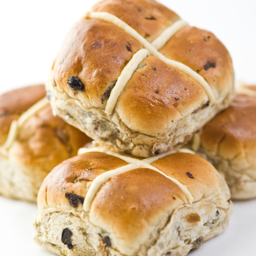 Healthy, we promise! Aboutlife's hot cross buns