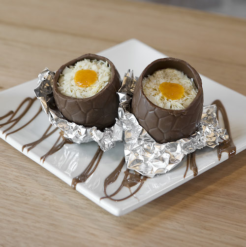 Oliver Brown Chocolate Cafe's special Easter treat