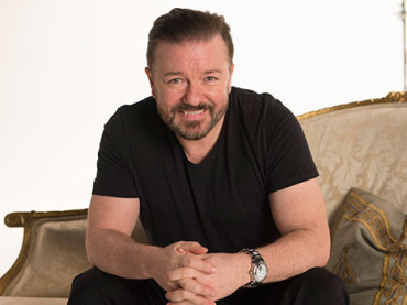 Ricky Gervais for Netflix and Optus… We Think