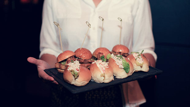 Snow-Crab-Roll-and-Soft-Shell-Crab-Burgers-The-Morrison-Amy-Mackay