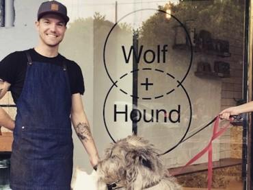 Sharing Coffee with Man's Best Friend at Wolf & Hound