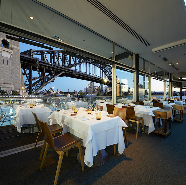 A view of Vivid without the crowds – Aqua Dining
