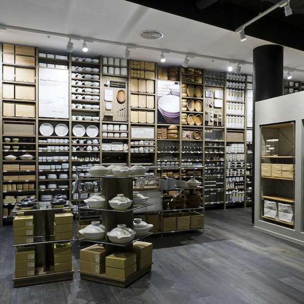 Watch out. You'll leave MUJI with a whole new kitchen