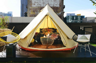 Camping Under the Stars gets a Melbourne Makeover