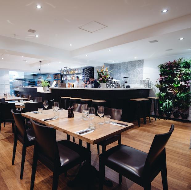 Char & Co Restaurant Interior