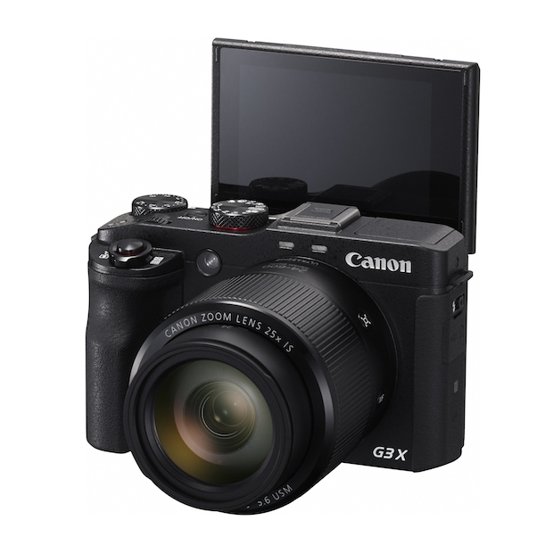 He won't miss a moment with the Canon PowerShot G3 X