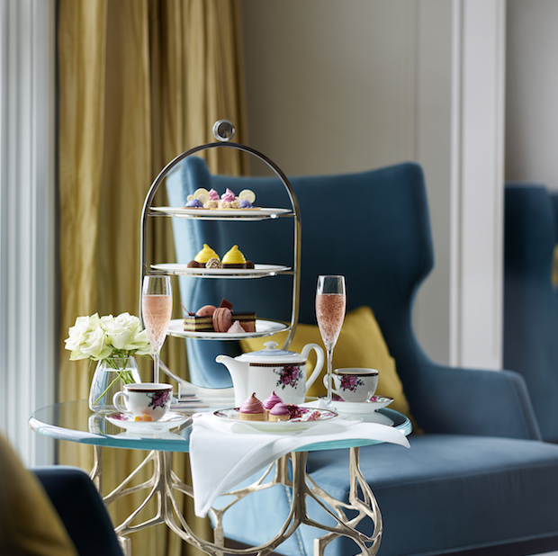 Get settled into Palm Court for Afternoon Tea With Wedgwood