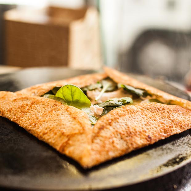 Try a galette – a savoury crepe