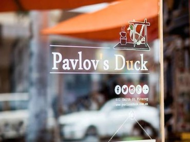 Salivating with Pavlov's Duck