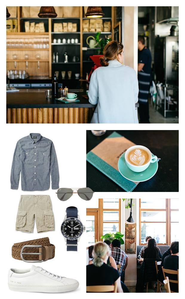 Weekend travel coffee