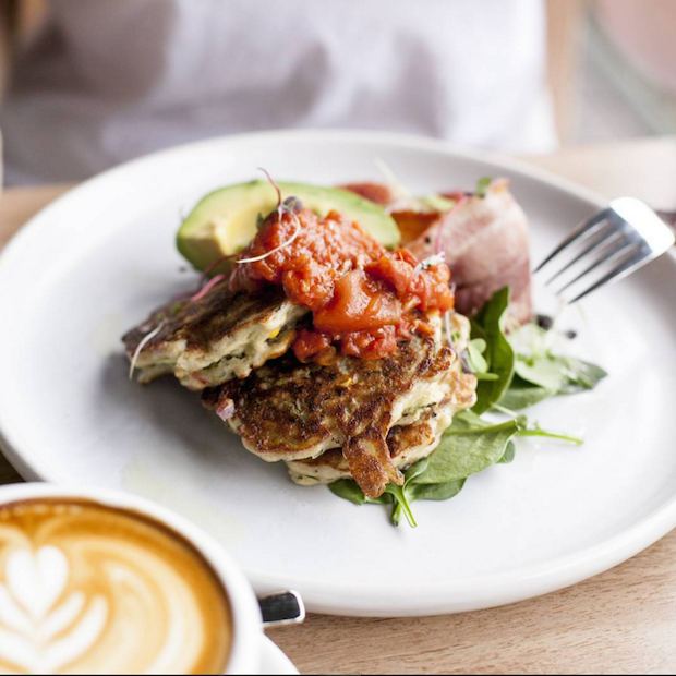 Go guilt free at brunch with buckwheat zucchini fritters