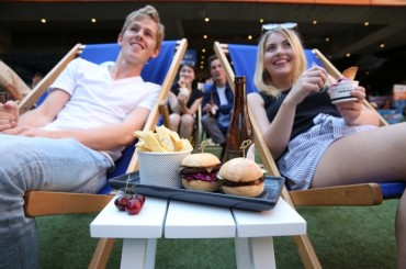 Melbourne's New QV Outdoor Cinema