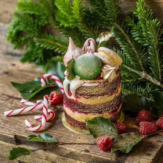 Look no further than The Grounds for too-cute to eat Christmas pastries