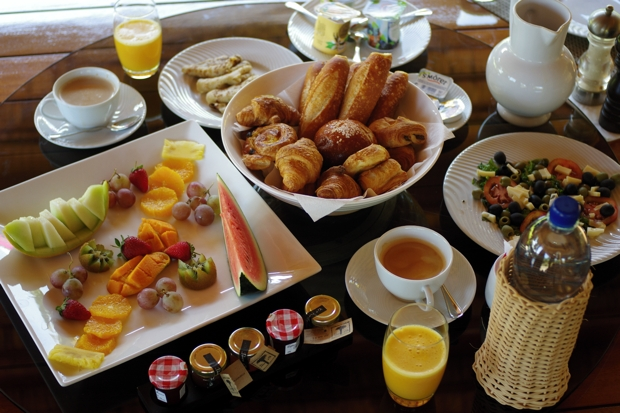 Club Med Albion Villa Breakfast