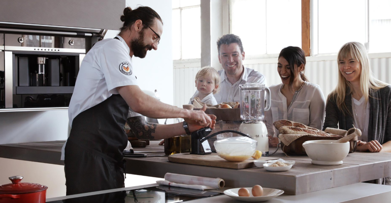 VIVE Cooking School – A slice of organic France on a plate