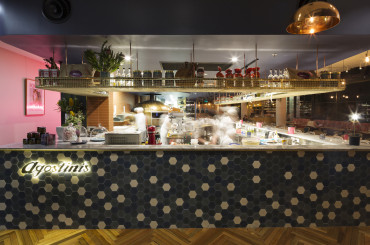 Contemporary Italian Agostinis launches at East Hotel
