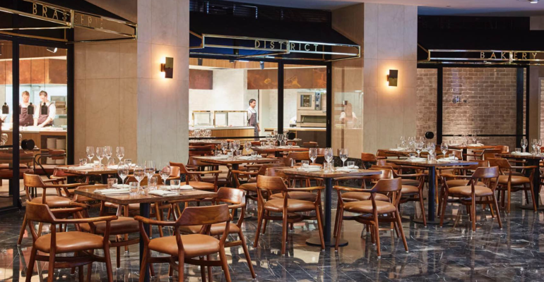 Right at Home in District Brasserie